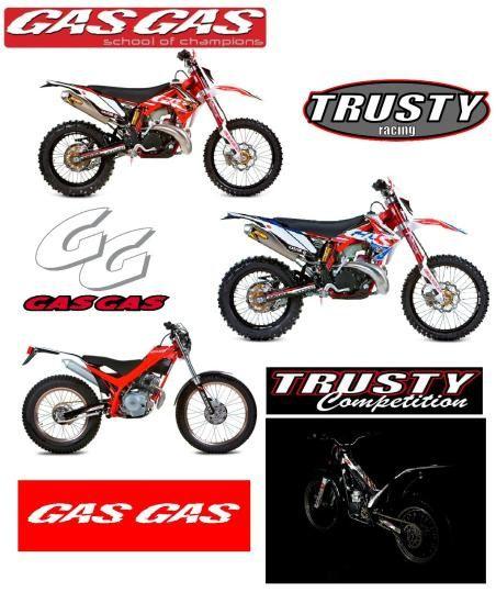 affiche gas gas 2011