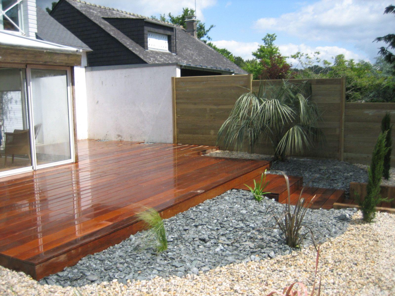 Terrasse En Bois Et Jardin album - terrasse-bois - arbor mineral - paysagiste