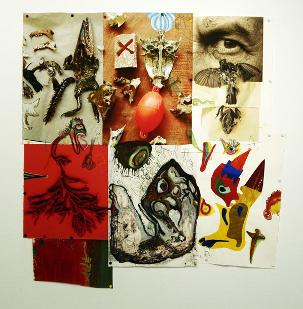 """""""Je danse dans des rêves qui ne me surprennent plus"""", galerie JM Arts, Paris, 2009."""