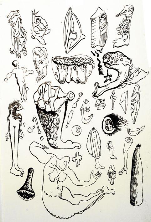 Dessins et monotypes 2010/2011