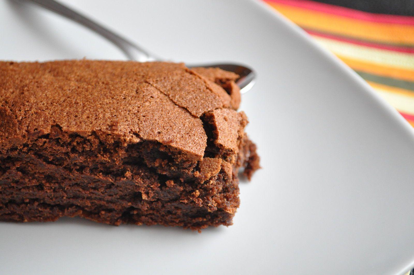 Recette de gateau au chocolat au thermomix