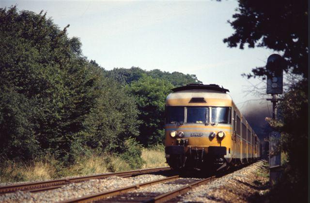 Turbotrain RTG tranchée de Bréval