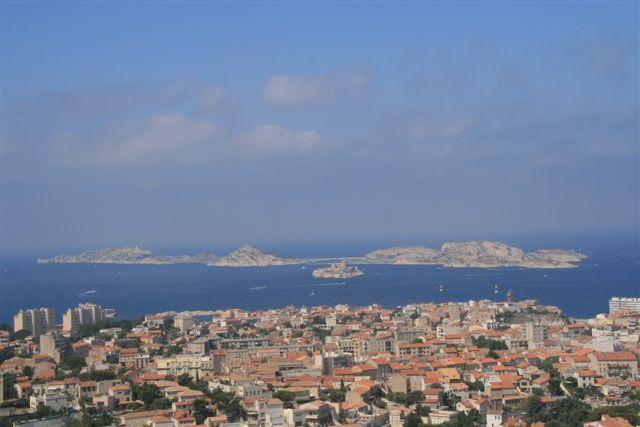 Marseille archipel Frioul