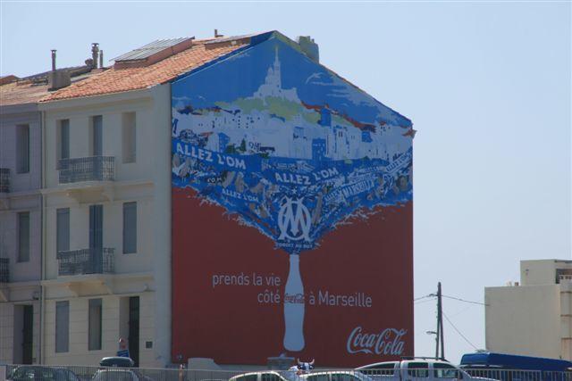 Marseille peinture murale