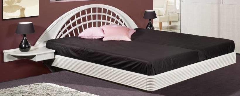 lits déco 90, 140, 160 et 180 cm dans 44 coloris mat ou brillant