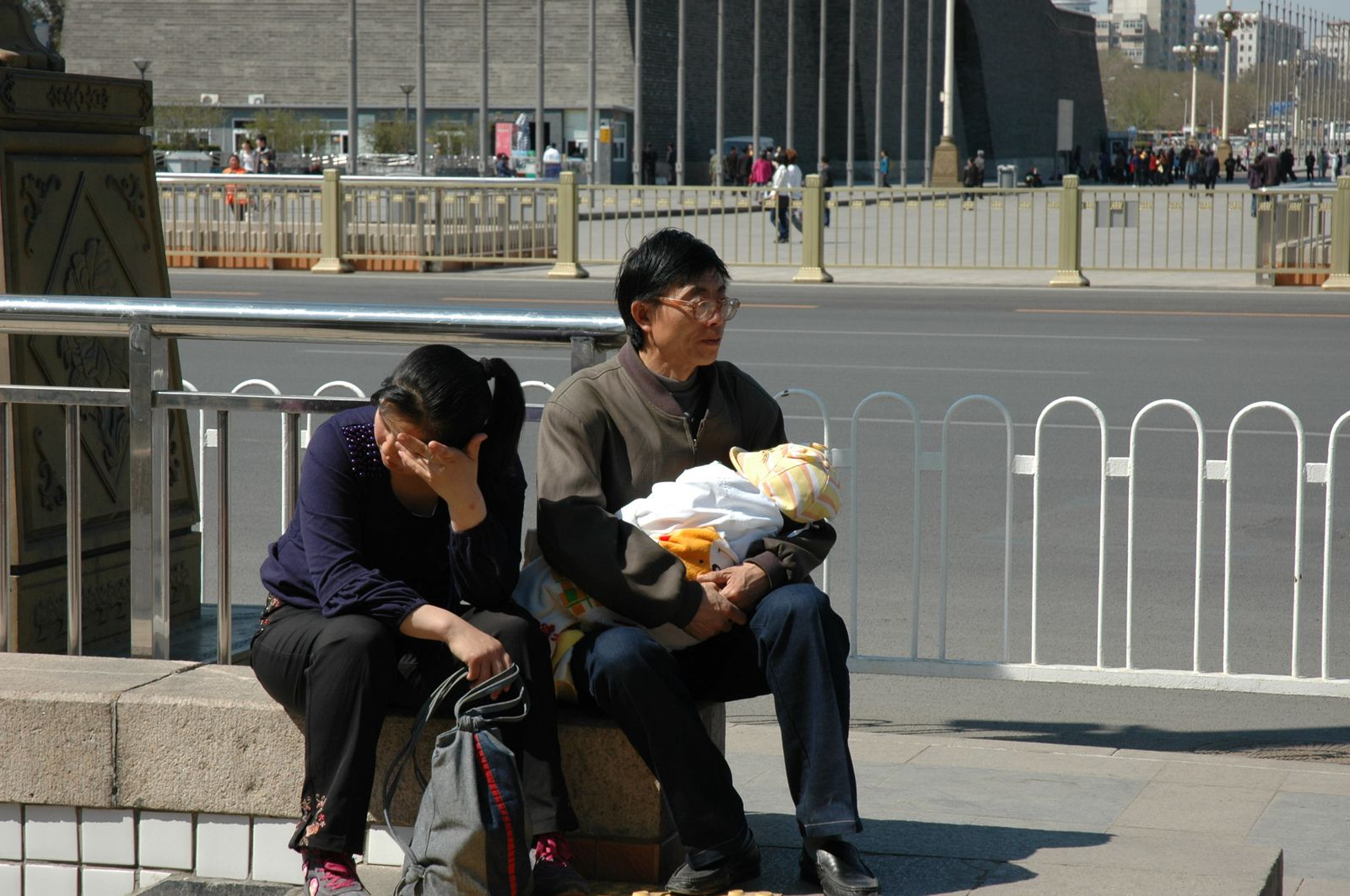 chinois et chinoise à Beijing
