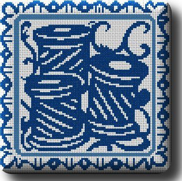 grille 4 broderie