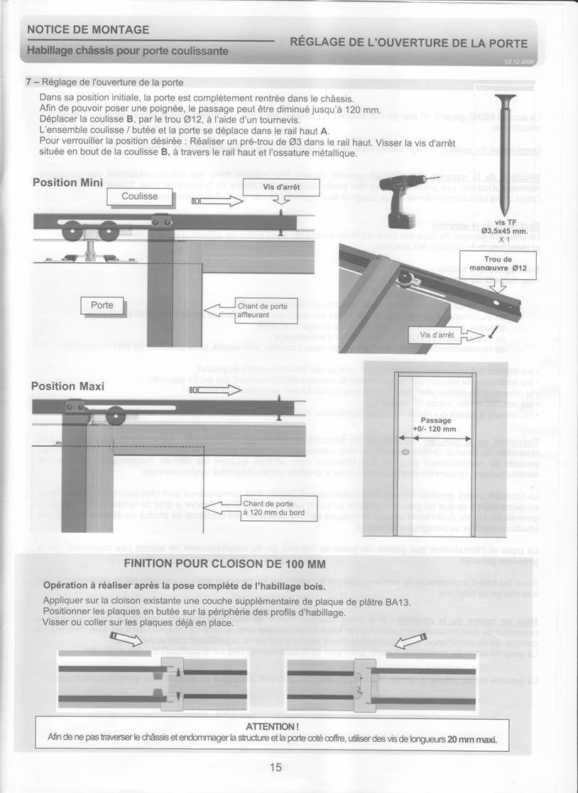 Plan Porte À Galandage album - notice-porte-a-galandage-artens - le blog de la