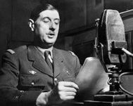 Charles de Gaulle le 18 juin 1940