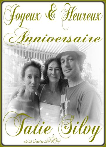 BLOG Le 23 OCTOBRE 2011 Anniversaire 48 ANS Tatie Silvy