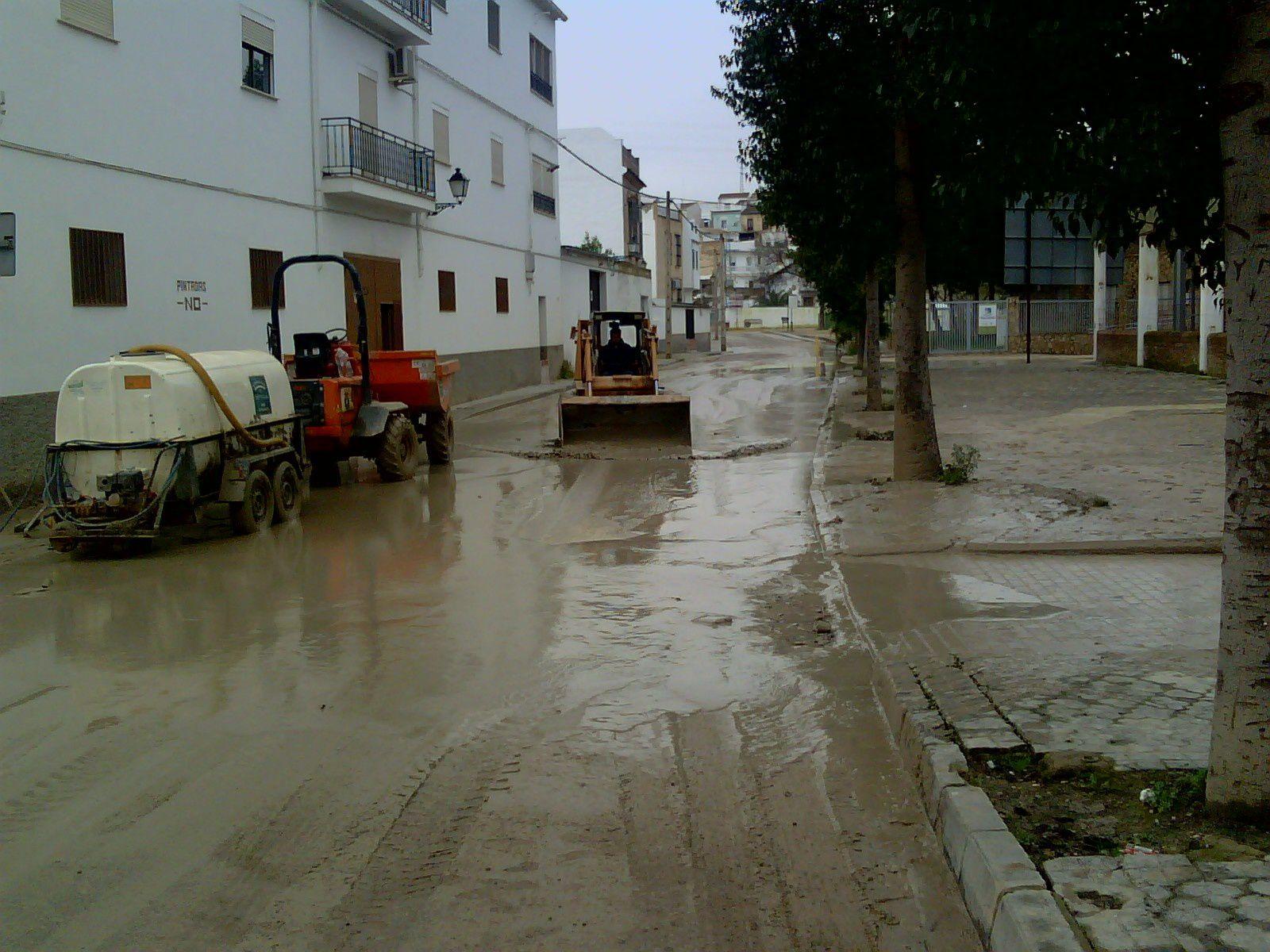 Inundaciones Badolatosa Marzo 2010