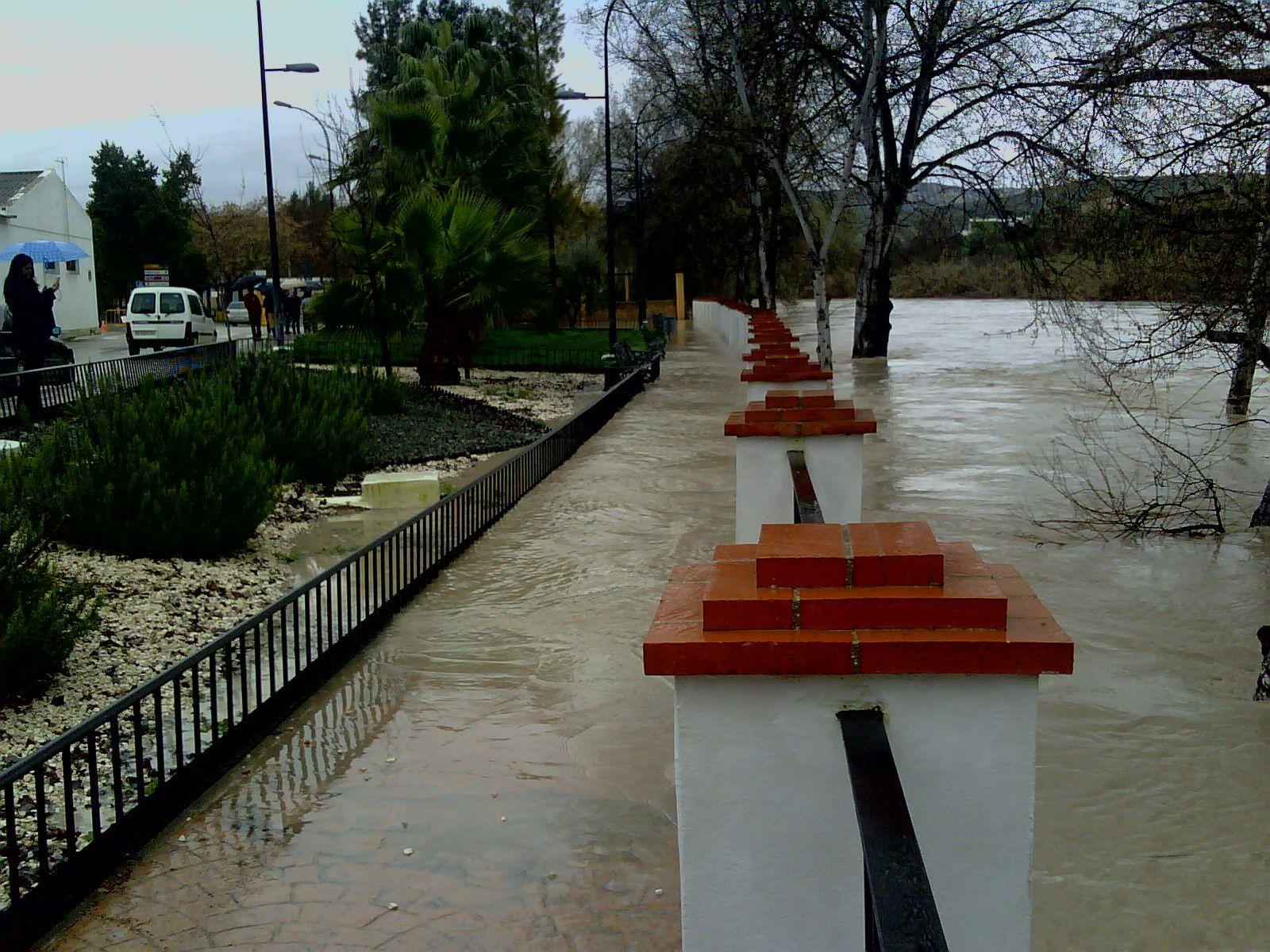Inundaciones Río Genil 06-03-2010 Badolatosa
