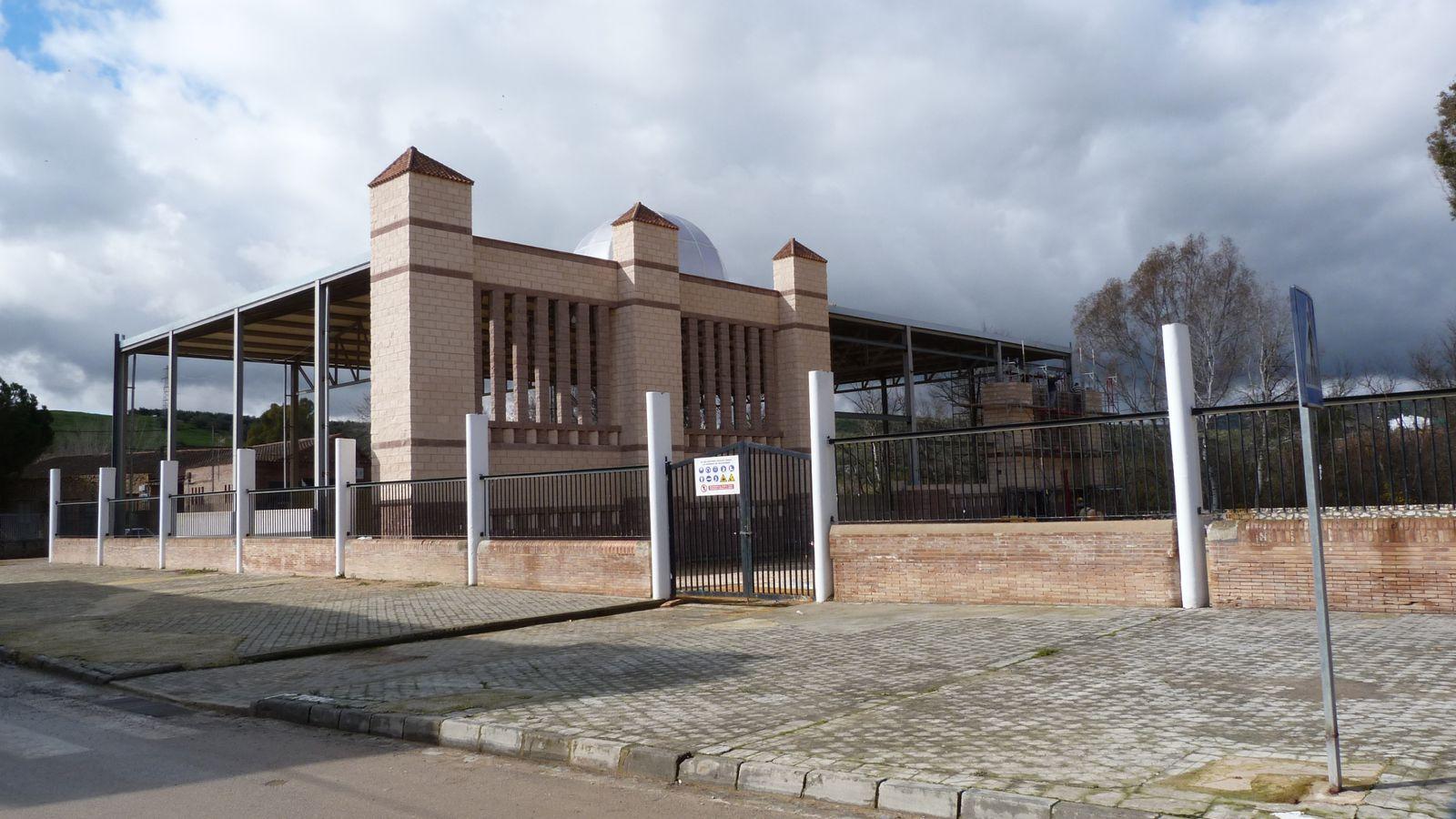Obras de la caseta municipal de Badolatosa 2013