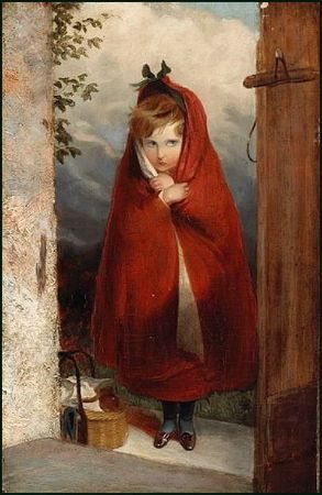 Little red riding hood D'après Sir Edwin Landseer