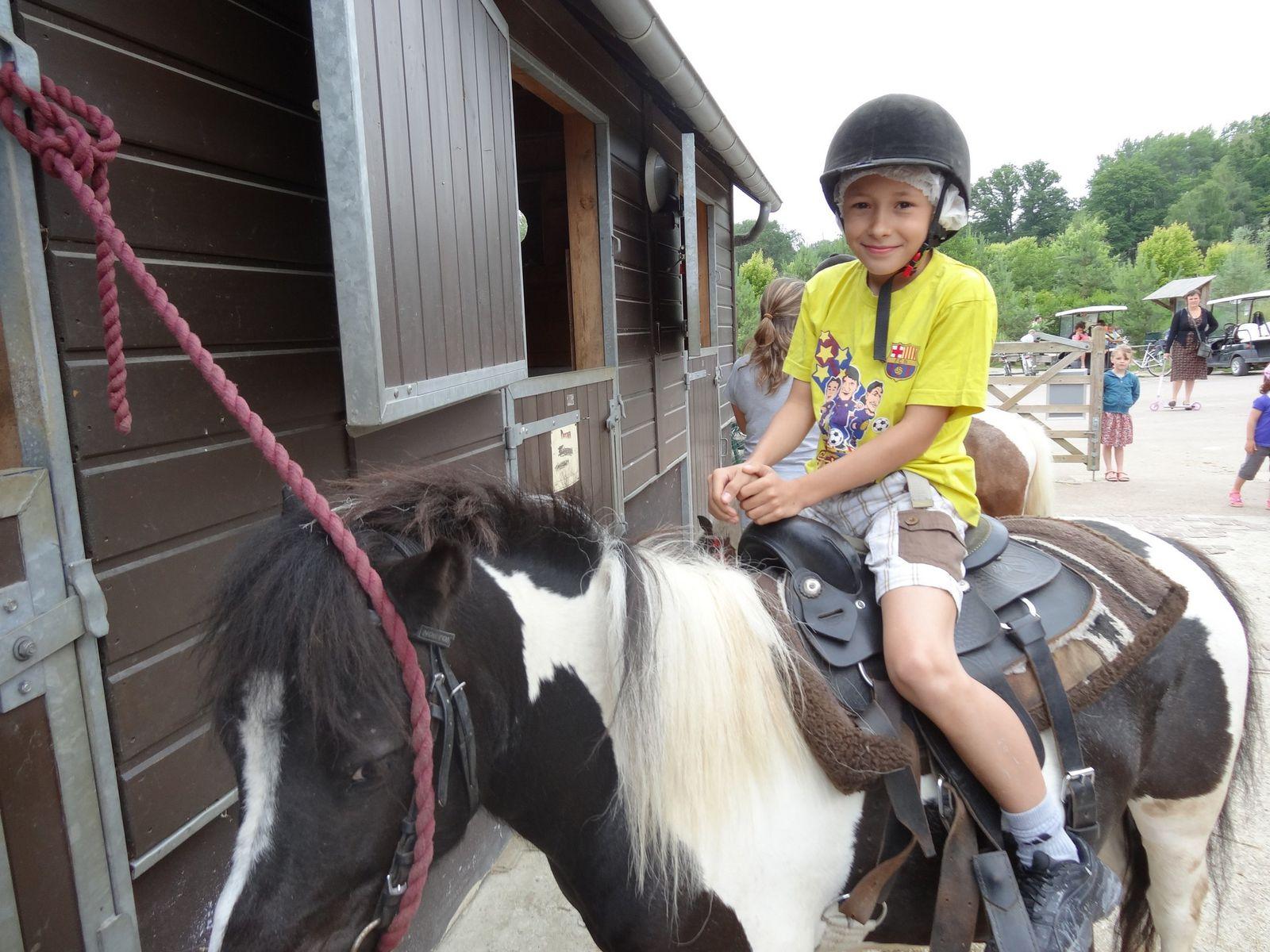 Mini séjour à Center Parc du Lac d'Ailette du lundi 01 au vendredi 05 juillet 2013.