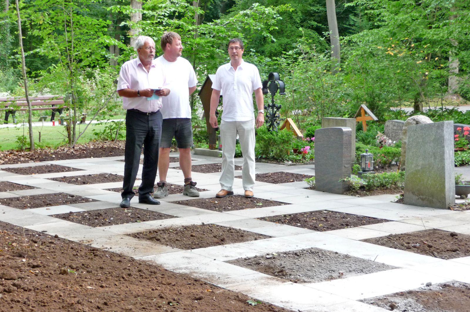 WaldfriedhofUrnengrabfelder