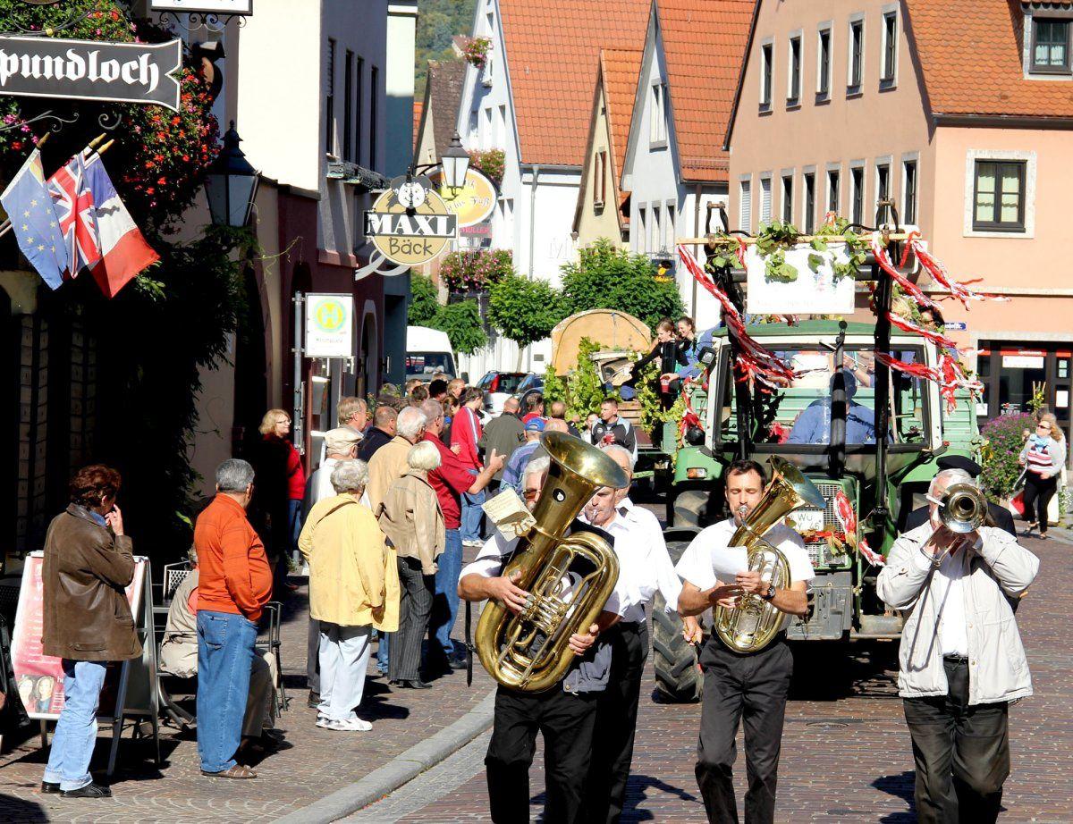 Letzte Fuhre Veitshöchheim 9.10.2010