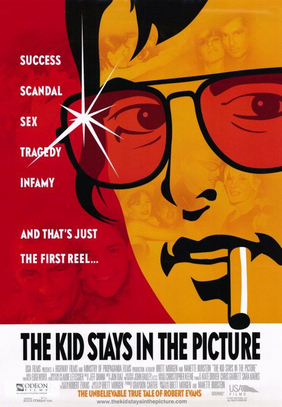 The Kid Stays in the Picture - affiche