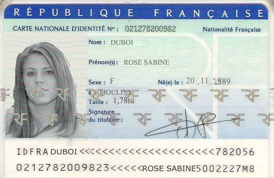 Exemples de faux documents utilisés par les brouteurs