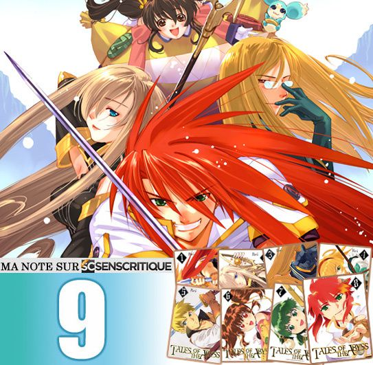 Tales of Abyss manga