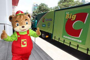 Green-truck-BigC-Thailand