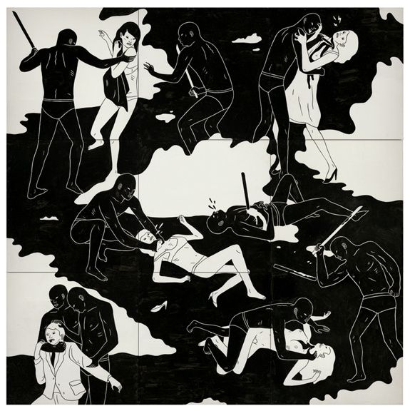 "Cleon Peterson: ""Témoin du Chaos"" - ACTUART by Eric SIMON"