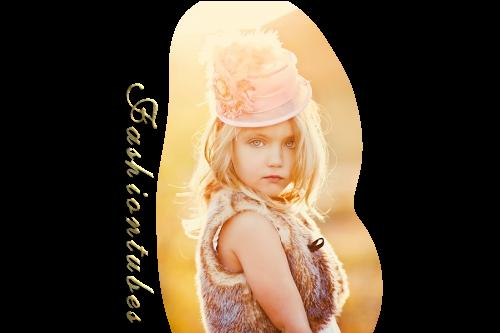 fillette chapeau fleur