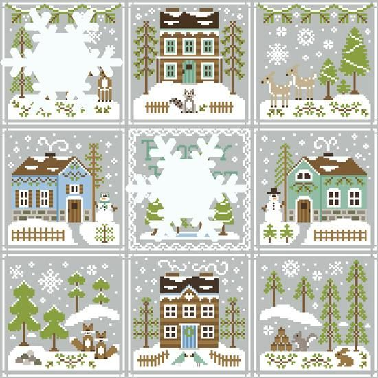550 Frosty Forest Snowflake Reveal7