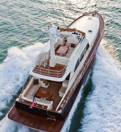 photo aerienne du Vicem-75-Flybridge