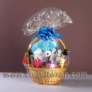 How To Use Shrink Wrap For Gift Baskets