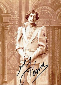 1 French operatic baritone Jean Périer (1869-1954) as Pelléas in Cla