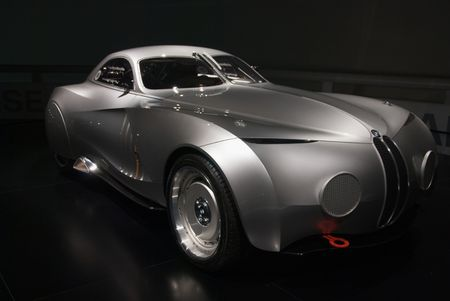 BMW Concept Car a tribute to the Mille Miglia