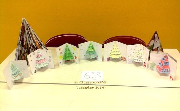 6°3 ChristmasTree cards