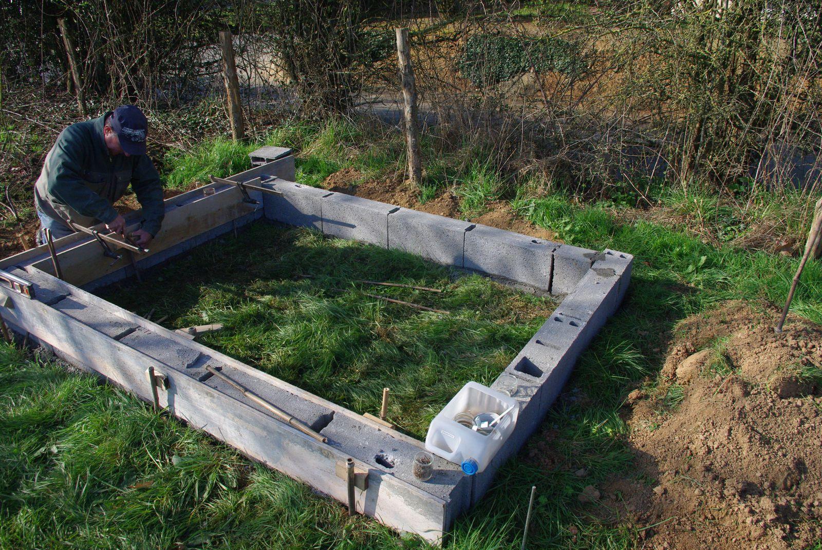Fabriquer Un Abri Pour Velo l'abri à vélos - etape 1 : terrassement et fondations - la