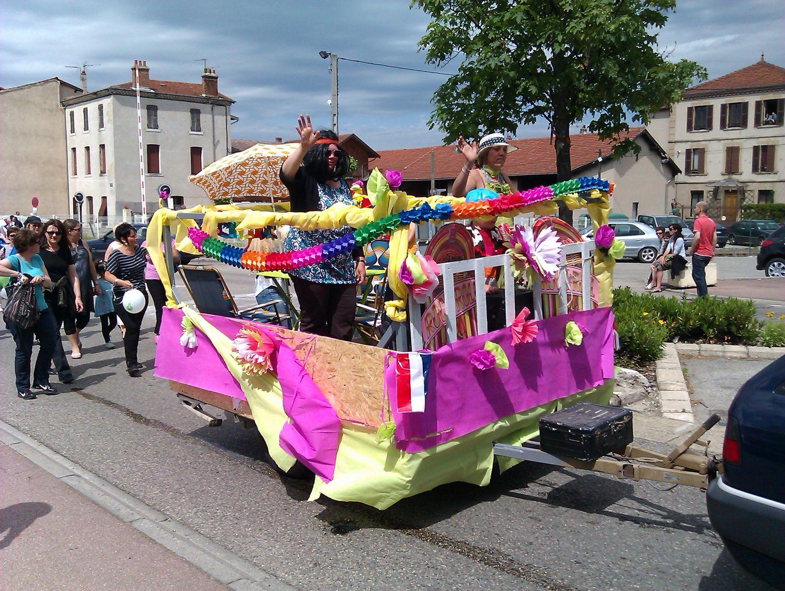 Fête RN7 à St Rambert d'Albon le 19 mai 2012